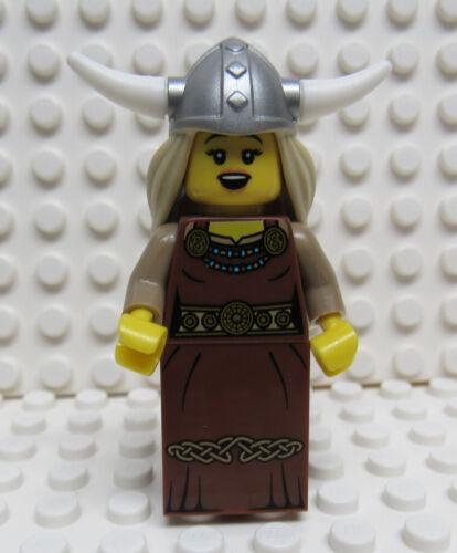 Lego Viking Lady Female Minifig - New
