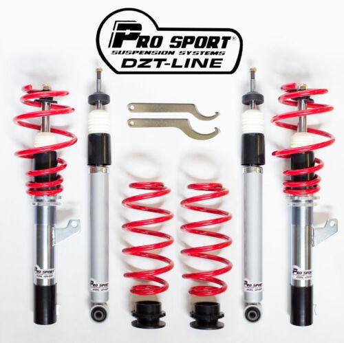 Prosport DZT Combinés filetés pour Seat Leon Mk2 1.6 TDI FR 1P 1.9 TDI 2005 /> 12