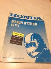Honda CG125 CG 125 125CG 95 manuel technique atelier workshop service manual
