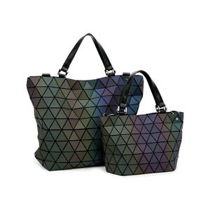 4ee024bd05ce Image is loading Japan-Style-Laser-Bag-Geometric-Diamond-Luminous-Women-