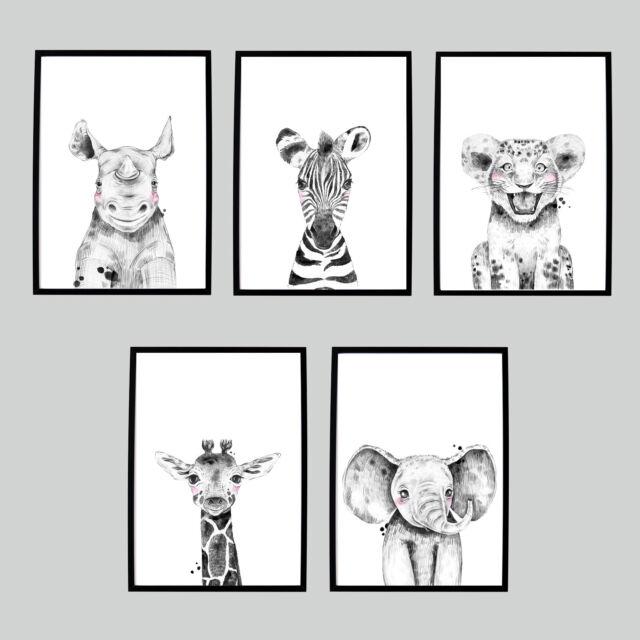 ABC Mamas /& Papas Print Wall Art Nursery Picture