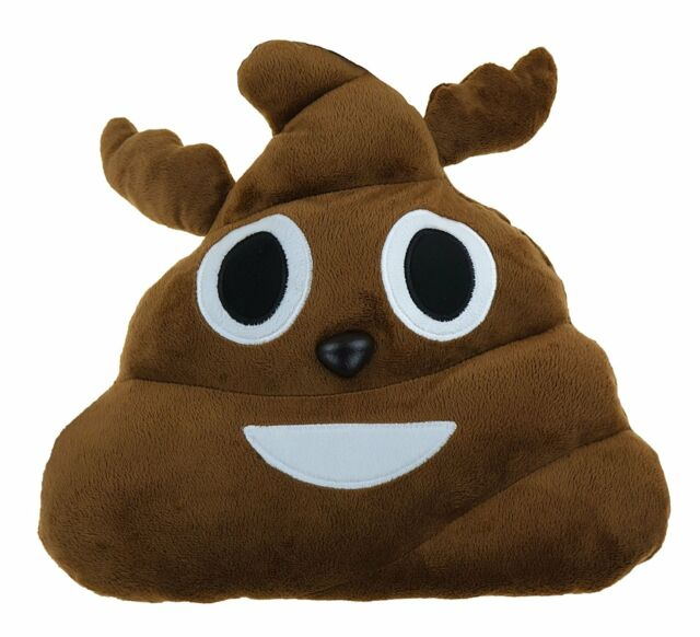 emoji expressions christmas reindeer poo plush pillow 12 inches unisex new 2016 - Christmas Poop