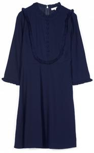 Orphee Inverno 2017 2018 M Autunno Collezione Mila Dress Grace Blu Model xtwFP6qU