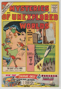 M0470: Mysteries of Unexplored Worlds #23, Vol 1, VF/VF+ Condition