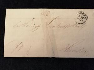 Vorphilatelie Altdeutschland - Brief Faltbrief Aachen   Nr.1