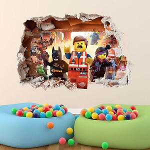 LEGO-MOVIE-WALL-STICKER-3D-BOYS-GIRLS-BEDROOM-VINYL-WALL-ART-DECAL