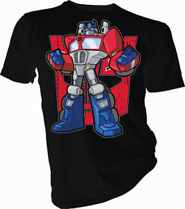 TRANSFORMERS-leader-OPTIMUS-PRIME-Adulte-amp-Enfants-T-Shirt