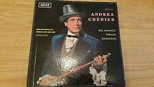 DECCA LXT 5411/12 -ANDREA CHENIER - DEL MONACO TEBALDI BASTIAANINI - 2LP BOX SET