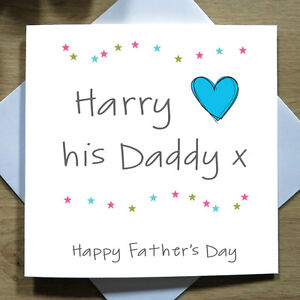 image is loading personalised handmade happy fathers day card dad daddy