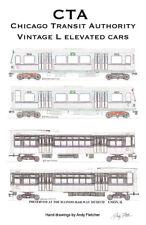 Chicago Transit CTA Train /'L/' System Map Undamaged Condition Carcard Map