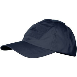 1a6a498d5 Details about HELIKON MENS MILITARY RIPSTOP BASEBALL CAP SAILING MARINES  HAT NAVY BLUE
