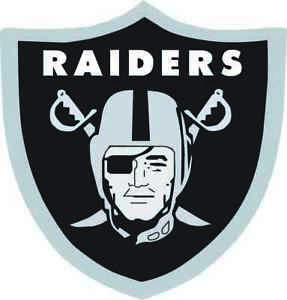 5 sizes and 3 colors to choose from Raiders Window Sticker Vinyl Decal 5 Inch Perfect for Las Vegas and Oakland fans