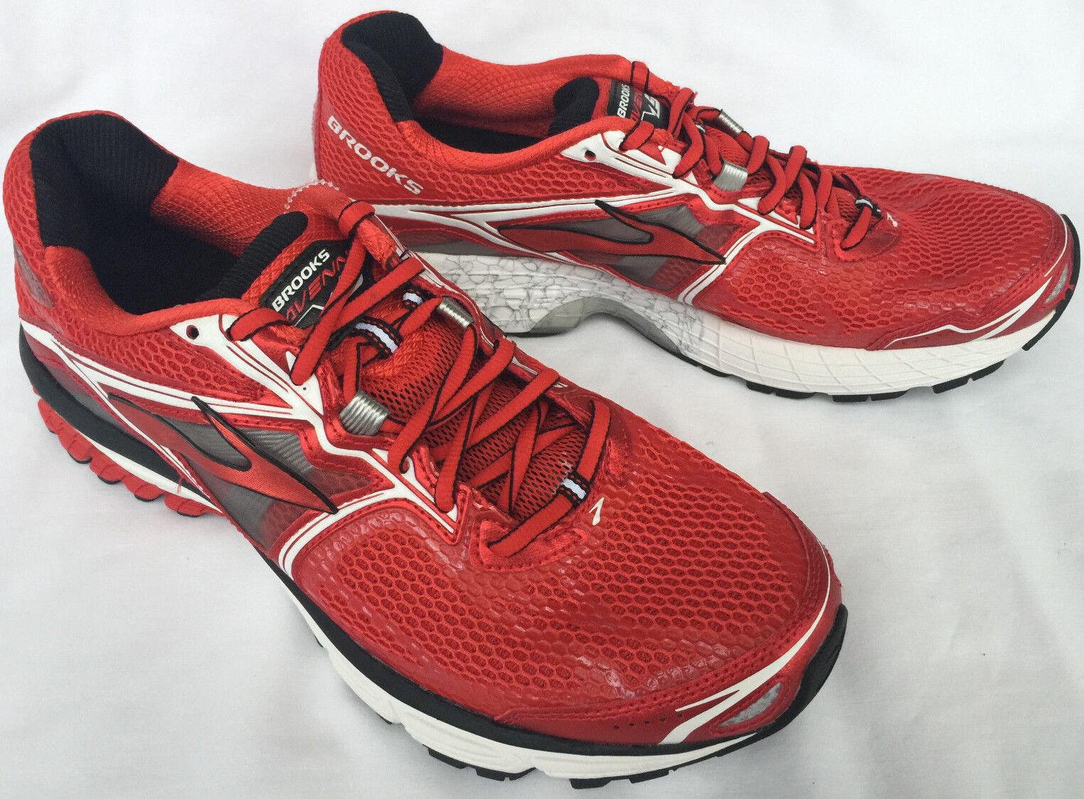 Brooks Ravenna 5 High Risk Red 1101561D608 Marathon Running shoes Men's 13 D new
