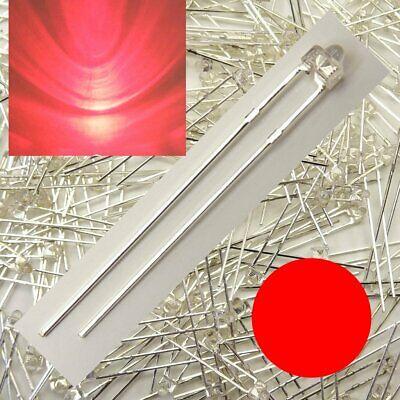 Coraggioso Led 1,8mm Rosso Chiaro Numero Di Pezzi Selezionabile Da 1/10/25/50 Pezzi C5030-mostra Il Titolo Originale