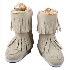 [wamami] Khaki Neo Blythe Doll Takara MMK Lati Puki Dollfie Shoes Boots Outfit