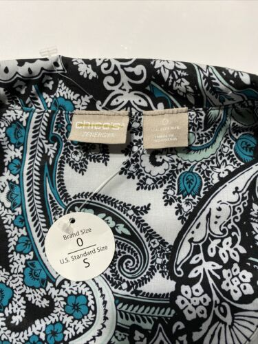 Details about  /New Chicos Zenergy Jacket Womens Paisley Green Zip Front Size Small 0 US 4//6