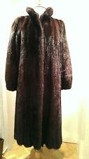 Nerz eleganter Mantel brauner Luxus Pelz Gr. 38 TOP sehr gepflegter Zustand