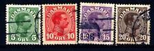 DENMARK - DANIMARCA - 1913-1921 - Effigie di re Cristiano X