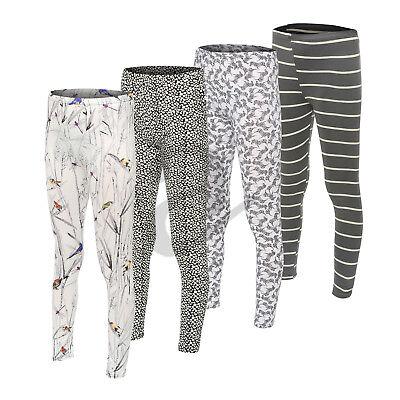 Women's Girls Kids Zebra Print Pattern Stretch Full Long Ladies Leggings Small Hochwertige Materialien