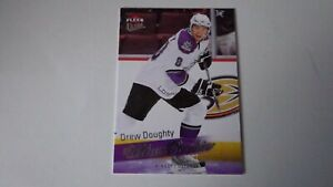 DREW-DOUGHTY-2008-09-FLEER-ULTRA-RC-ROOKIE-HOCKEY-CARD-259-Los-Angeles-Kings