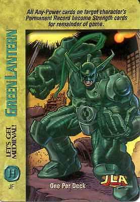 CCG Marvel DC Image OverPower OPD Green Lantern Let/'s get Medievil!