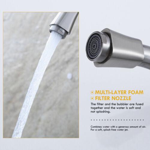 360° Küchenarmatur Wasserhahn Einhandmischer Spültischarmatur für Spülbecken