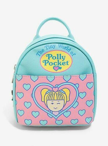 Hot Topic x Polly Pocket The Tiny World Of Polly Pocket Mini Backpack NWT