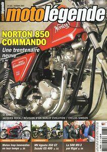 Motolegende-N-183-De-2007-Perfecto-Estado-Norton-Commando-850