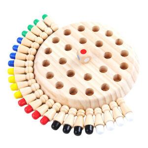Hoelzernes-Eltern-Kind-Kinder-Gedaechtnis-Schachbrett-IQ-Spielzeug-Set