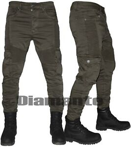 online in vendita vendita a buon mercato usa prezzo basso Pantaloni uomo cargo biker Jeans tasconi slim elasticizzati ...