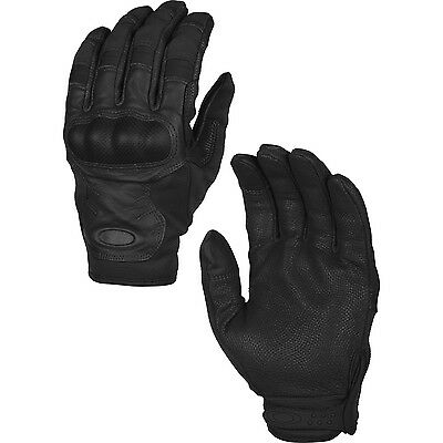 Oakley SI Tactical Touch Hard Knuckle Touch Screen Compatible Glove - Black