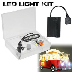 LED Licht Beleuchtung Kit Für Lego 10220 T1 Campingbus VW Volkswagen Lighting ✌