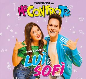 Me-Contro-Te-Il-Fantadisco-Dei-Me-Contro-Te-Canta-Con-Lui-amp-Sofi-CD-Nuovo