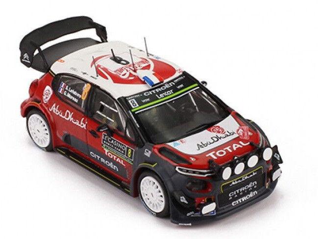 Ixo Models 1 43 RAM 639 Citroen C3 WRC  8 Rally Montecarlo 2017 Lefebvre NEW
