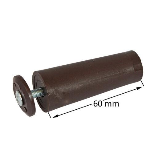 Rideau Roulant attentat butées maxi 60 mm Marron attentat tampon volet roulant butées tampon