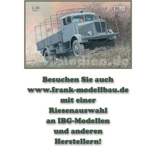 Büssing-NAG 500 A LKW 1:35 IBG 35011 Modellbausatz
