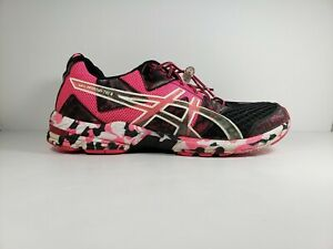 size 40 cb5b6 a80db Image is loading Asics-Gel-Noosa-Tri-8-Pink-Black-Running-