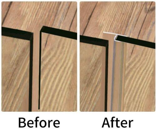 120/'/' Shower Door Seal 3//8/'/'Glass Strip Silicone House Door Bottom Sweep Stopper
