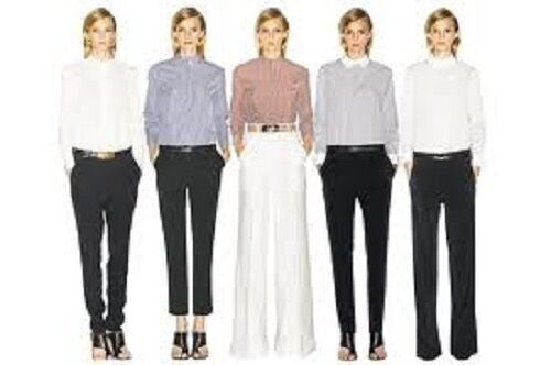 BRAND NEW CELINE LAQUE LEATHER LOOK SKINNY DRESS PANTS Sz 38