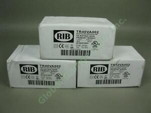 3-NEW-RIB-TR40VA002-Transformers-VA-Rating-40VA-Primary-120V-Secondary-24VAC-UL