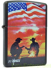 Zippo Mazzi American Cowboy Rancher Western limited Edition xxxx/1000 Neu