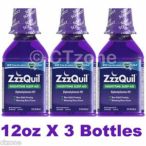 zzzquil nighttime sleep aid liquid from makers of vicks nyquil 12oz