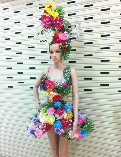 Da NeeNa C055  Earth Flower Elegant Headdress Costume Set XS-XL