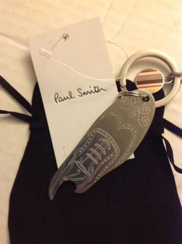 Paul Smith Shoe Bottle Opener Keychain Key Fob Authentic NWT Brand New