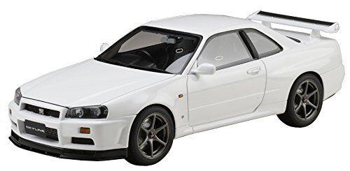 Hobby JAPAN 1 18 Nissan Skyline GT-R V Specs 1999 BNR34 bianca HJ1809W