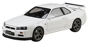 Hobby-Japan-1-18-NISSAN-Skyline-GT-R-V-Specs-1999-BNR34-Blanc-HJ1809W
