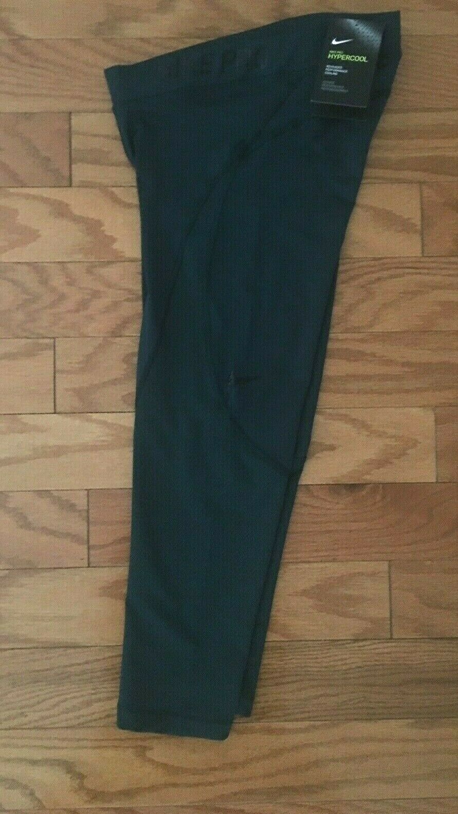 NEW Women's NIKE PRO Compression Training Green Tights Capri 889651 372 XS