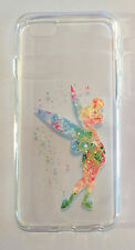 iPhone 6 6s Tinkerbell Mobile Phone Soft Protective Case Disney Xmas Peter Pan