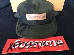 Louis Vuitton x Supreme Camp Cap 5 Panel Camo Camouflage SKU MP1875 ... 820ccafa0f9f
