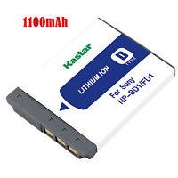 1x Kastar Battery For Sony Np-bd1 Fd1 Type D Dsc-t70 T75 T90 T200 T300 T500 T700